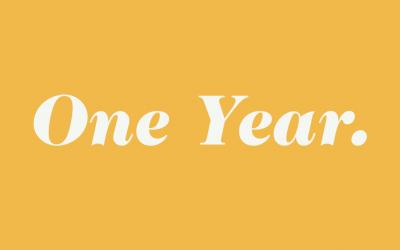 Sometimes It Takes a Year